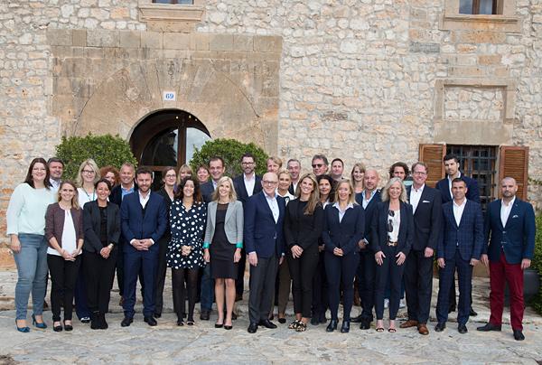 Team on Mallorca