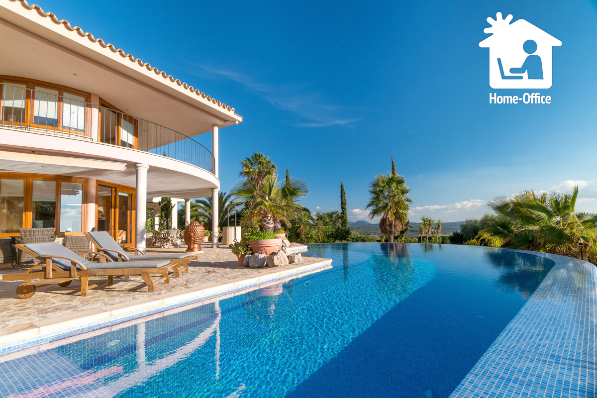 Homeoffice auf Mallorca