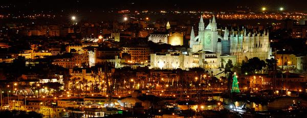 Palma bei Nacht