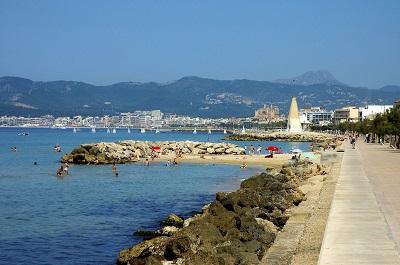 Die Route entlang der Playa de Palma ist ein empfehlenswerter Ausflug für die ganze Familie
