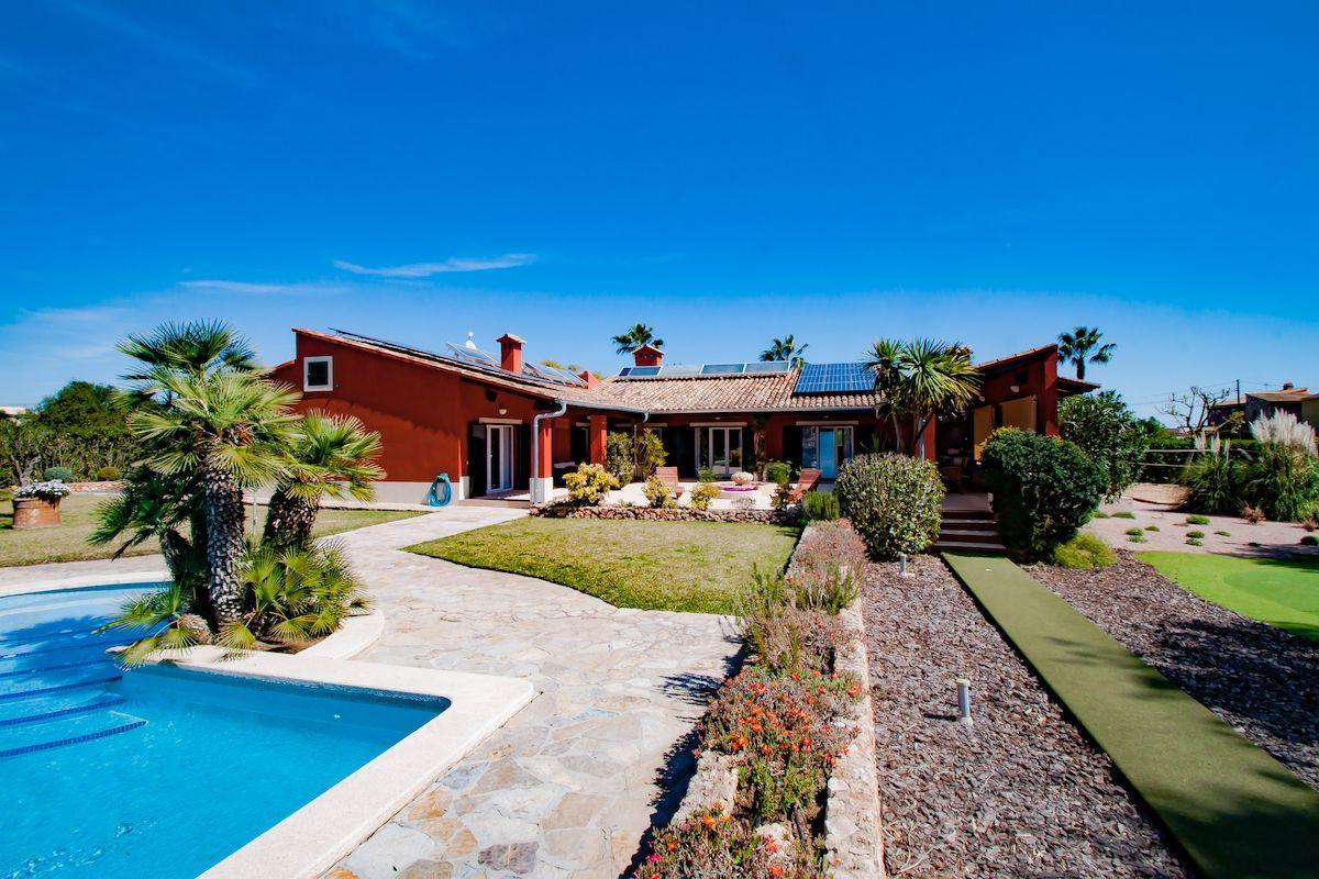 Einzigartige Villa mit eigner Sauna, Golfplatz und vieles mehr in Cala Murada