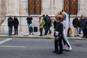 The animal blessing at Sant Antoni is a spectacle for young and old