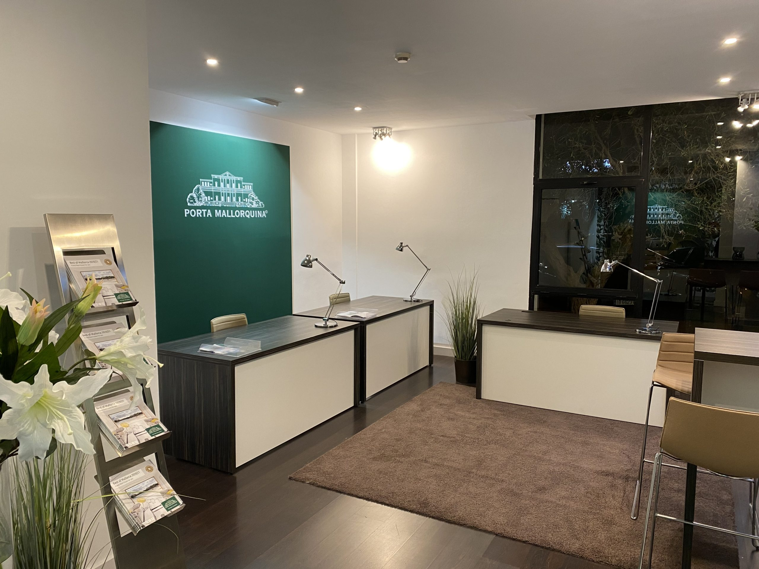 Der neue Immobilienshop von Porta Mallorquina in Santa Ponsa