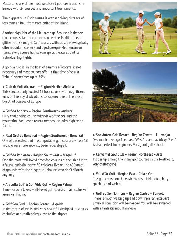 Golf courses Mallorca
