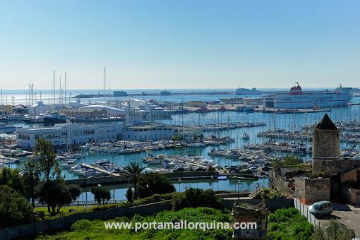Hafen Santa Catalina auf Mallorca