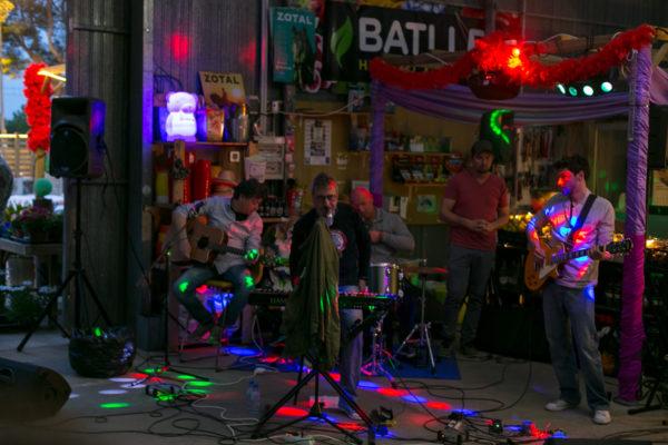 Die Band Estepes rockte bis in die späten Abendstunden