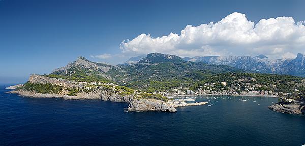 Puerto Soller en Mallorca