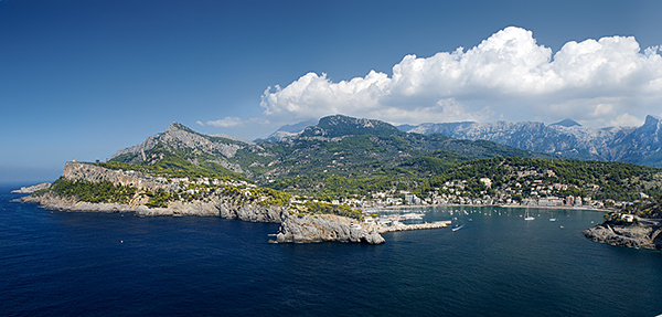 Puerto Soller auf Mallorca