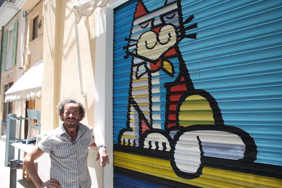 Street Artist Manrique Duran aus Palma