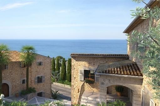 Traumhaftes Anwesen in Deià mit spektakulärem Blick, nur wenige Minuten vom Meer entfernt