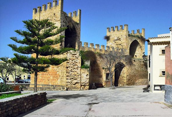 La vieille ville d'Alcudia