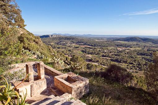 Berg Puig de Randa auf Mallorca