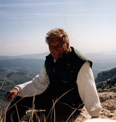 Autor Dr. Wolfgang Hierl auf dem Alaró.