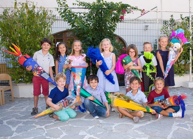 Erstklässler an der internationalen Schule . (Foto: Europcampus)