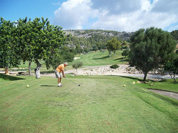 Golfplatz im Südwesten Mallorcas