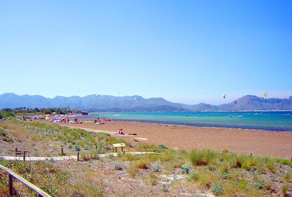 Kitesurfen in Puerto Pollensa auf Mallorca