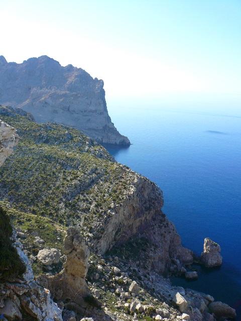 Mallorcas Küste im Nordwesten