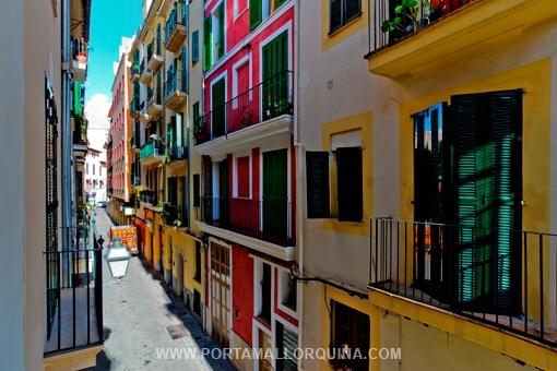 Wohnungen in der Altstadt von Palma zählen zu den begehrtesten Mietobjekten auf Mallorca.