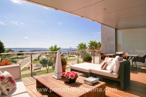 Neubau Luxusappartment in Portixol