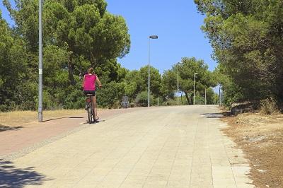 Paseo Fahrradweg, in Son Veri Nou