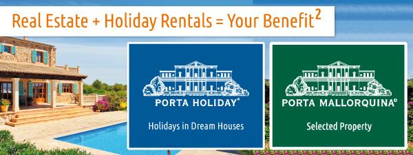 Full-Service vom Kauf bis zur Ferienvermietung: Porta Mallorquina Real Estate und Porta Holiday.