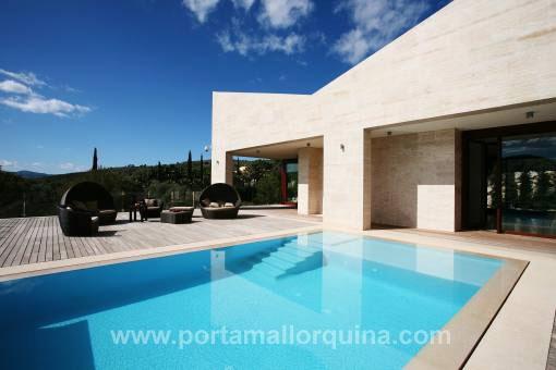 Villa auf Mallorca mit herrlichem Meerblick