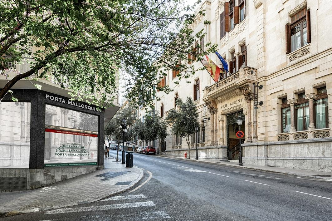 Porta Mallorquina Palma, Calle Conquistador 8, Palma de Mallorca