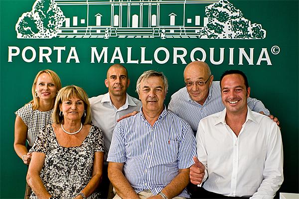Das Team der Porta Mallorquina