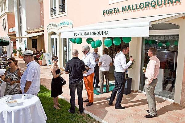 Eröffnungsfeier der Porta Mallorquina