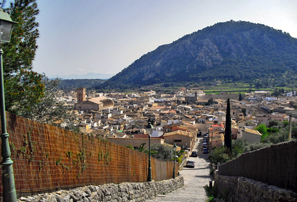 La montaña Puig de Maria en Pollensa