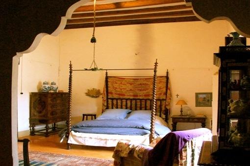 Andere Ansicht des Schlafzimmers