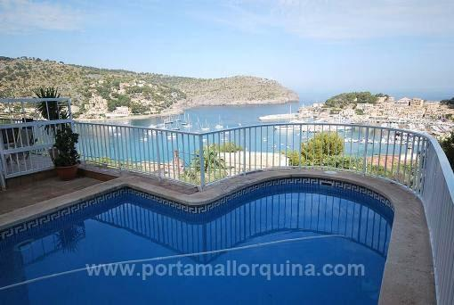 Villa mit sehr schöner Aussicht und Swimmingpool in Puerto de Soller