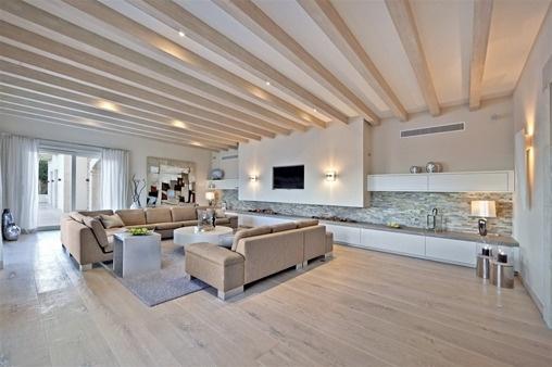 Villa Wohnzimmer : Luxusvilla mit gästehaus