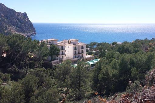 Meerblick-Grundstück für eine Villa in Puerto de Andratx
