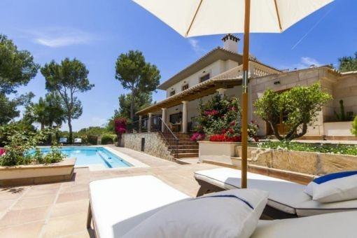 Wunderschöne Villa in Cas Catala