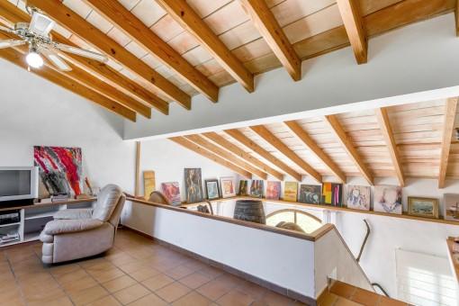 Ansicht von der Galerie