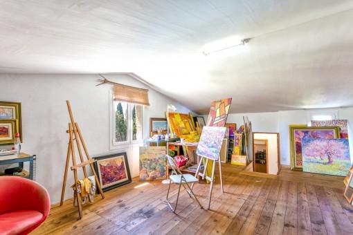 Atelier des Anwesens