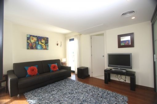 Gästezimmer mit Sofa