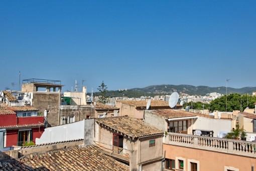 Beindruckender Ausblick über Palmas Altstadt