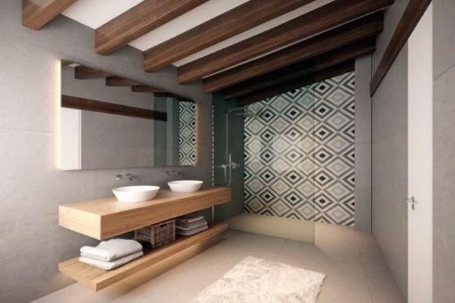 Mögliches Badezimmer nach der Renovierung