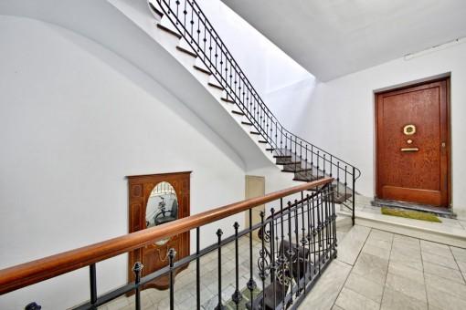 Treppenhaus des Gebäudes