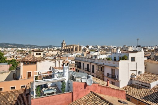 Wunderschöner Blick auf den antiken Kern der Stadt