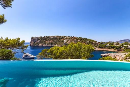 Luxusvilla in der Cala Marmacen mit direktem Meerzugang