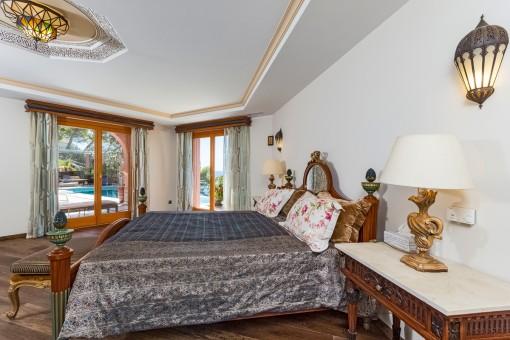 Hauptschlafzimmer im orientalischen Stil
