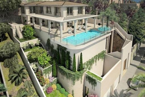 Luxusvilla mit garantierten Sonnenuntergängen in Puerto Andratx