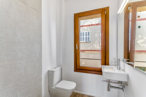 Kleines Badezimmer en Suite