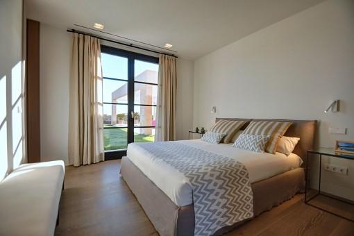 Eines von 5 komfortablen Doppelschlafzimmer