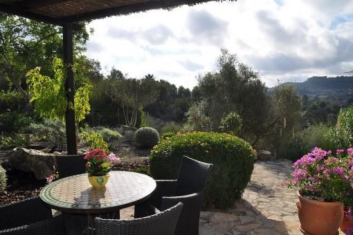 Tolle Finca mit Panoramablick in Son Macia