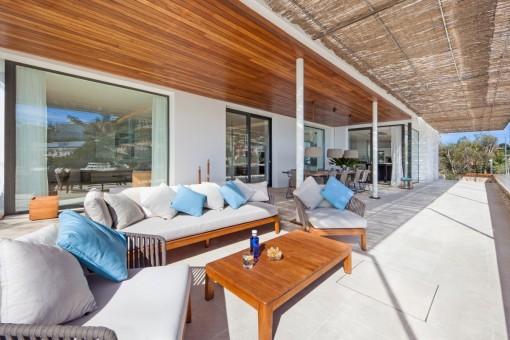 Die Villa bietet das höchste Niveau an Wohnkomfort