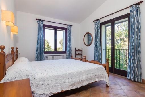 Die Finca verfügt über 4 Doppelschlafzimmer